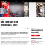 NAB, Westpac, ANZ Bank - No ATM Withdrawal Fees No Matter Who You Bank with