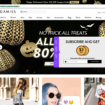 GAMISS Extra 13% off Products (Halloween Special)