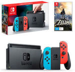 Nintendo Switch Console with Zelda $447.16 Delivered @ The Gamesmen eBay