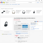 Sony WH-1000XM2 Noise Cancelling Bluetooth Headphones for $402.60 (Was $501.60) Delivered @ VideoPro on eBay