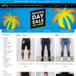 Hallensteins Boxing Day Sale: All Polos $20, $20 Shorts, $10 Tees, $20 Shirts + All Denim & Chinos $29.99