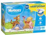 Huggies Ultra Dry Nappies for Infants / Boys and Other Jumbo Huggies $24 @ Big W