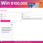 Win $5,000 or $100,000 from Pacific Optics [Purchase Telstra Product/Recharge]