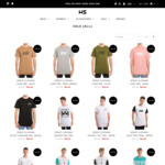 All Clothing & Other Items $10 (down from $49.95) + $10 Shipping or Free Shipping over $80 @ Wall Street Store