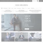 Van Heusen Flash Sale 50% off Storewide (Online Only)