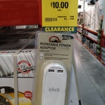 [QLD] Click Rotatable + 2 USB Power Adaptor $10, Nilfisk Neo 2000W Bagged Vacuum $70 @ Bunnings (Oxenford)