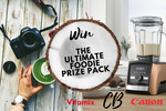 Win a Vitamix A3500 Blender & Canon EOS 7000 DSLR Camera Bundle Worth Over $3,240 from Coconut Bowls/Vitamix/Canon