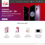 Save $10 on Your First Bill (Phone Plan $55 or Lower Only) @ Virgin Mobile