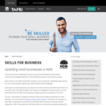 [NSW] Free TAFE Education for Small Businesses (ABN Required), e.g. Save $5,910 for Certificate IV in New Small Business