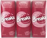Breaka Strawberry / Chocolate Flavoured Long Life Milk 6x 250ml $2 (Was $7.65) @ Coles