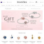 PANDORA Jewellery - Spend $150/ $200 for a Free Sterling Silver Moments Bracelt with Pavé Heart Clasp or Rose Pavé Heart Clasp