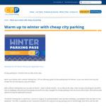 [WA] $7.24 Weekday Parking @ City of Perth