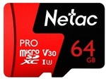 Netac P500 PRO 64GB UHS-I U3 Micro SDXC Card $15.99 US (~$21.16 AU) Delivered @ Tomtop