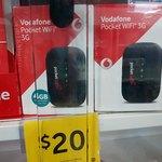 Vodafone 3G Pocket Wi-Fi Modem $20 @ Target