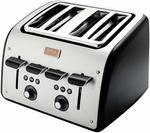 Tefal Avanti 4 Slot Toaster TT770860 (Black with 7 Customized Programs) $23.99 Delivered  @ Amazon Au (New Users)