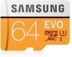Samsung Evo 64GB MicroSDHC Card Class 10 100MB/s USD $16 (~AUD $21.74) Delivered @ Zapals