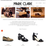 Marie Claire Shoes - Relocation Sale - Leather Shoes from $29 + Shipping, Free Shipping over $150