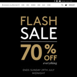 Rhodes & Beckett 70% off Everything (Online Only)