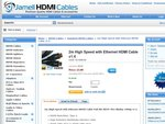 2m HDMI v1.4 1080P Cable for $5.00 with Free Shipping - JamellCables.com.au