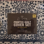 Inspire 250 TC Quilt Cover Set King Size $15 (Was $59) @ Woolworths