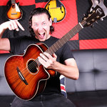 """Win a """"Blood Moon Venus"""" Electric-Acoustic Guitar from Faith Guitars"""