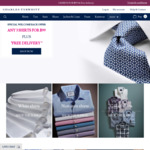 Charles Tyrwhitt Shirts 3 for $99 Free Delivery