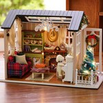 DIY 3D Christmas Gift Mini Dollhouse Kit with LED Lights US $11.99 (~AU $16) (Was US $27.99) Delivered @ Funyroot