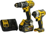 Dewalt DCZ266T1-XE Combo - Hammer Drill/Drive and Driver with 6Ah Battery and Charger $265.05 @ Discount Trader