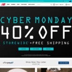 40% off and Free Postage at New Balance