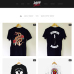Johnny Devil EOY Sale All Short Sleeve Tees $30 (Was $40) - Free Shipping Aus Wide