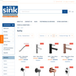 Up to 25% off Sofia Range - Bathroom Accessories, Baths, Taps @ The Sink Warehouse