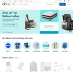 $5 off Everything @ eBay (No Minimum Spend, Works on $5 eBay Gift Card)