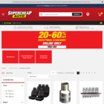 20-60% off Everything Storewide @ Supercheap Auto (Online Only)