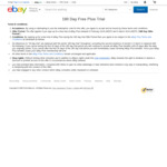 Free Trial of eBay Plus for 180 Days @ eBay (New Subscribers)