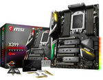 MSI X399 Gaming Pro Carbon AC TR4 ATX Motherboard $351.12 + $25 Delivery @ Umart eBay