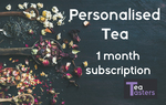 Limited Time Offer - $13 for Personalised Tea Subscription @ Tea Tasters