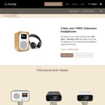Free $150 Urbanears Bluetooth Headphones with Purchase of Various PURE Digital Radio