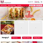 $10 Popcorn Chicken Bucket / $2 Sliders @ KFC