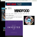 Win 1 of 20 Copies of 'Get Invested' by Bushy Martin Worth $13.99 from MiNDFOOD