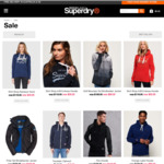 Superdry Jackets for $99, Hoodies from $49 + Free Standard Shipping on Superdry.com.au