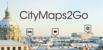 [Android, iOS] Free: CityMaps2Go Pro @ Google Play & iTunes