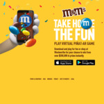 Win a Share of Over $200,000 Worth of Sony/GoPro/Sonos/JBL/Hoyts/Gift Card Prizes from Mars [Purchase M&M's]