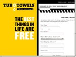 Free Sample Pack- Tub O'Towels Cleaning Cloths