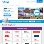 2,400 Bonus Flybuys Points with $60 Spend Sat 3/8 to Tue 6/8 @ Coles