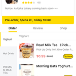 [ACT] Pearl Milk Tea $0.99 @ Sharetea&Cake Dickson via Easi App