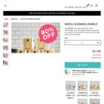 Muesli & Granola Bundle - 5x 8x 50g Serves - $11.90, Save $47.60 @ Hummingbird