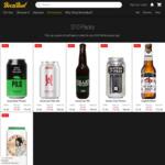 5 Packs of 6 (30 Cans/Bottles) of Craft Beer - $50 Delivered @ Boozebud