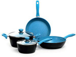 S+N Stone Plus 4PC Cookset Cerulean $59.95 (Was $399.95) + $10 Shipping @ Harris Scarfe