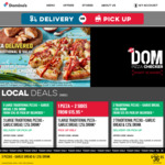 2 Selected Sides $7 (Pick up or Delivery) @ Domino's