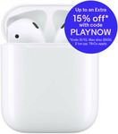 Apple AirPods 2 with Charging Case + Zagg 12000mAh Powerbank $211.39 + Delivery (Free with eBay Plus) @ Allphones eBay